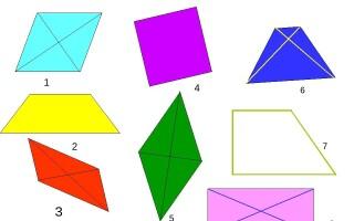 Види багатокутників