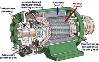 Принцип роботи трифазного двигуна