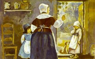 «Пані Метелиця» – зміст казки братів Грімм
