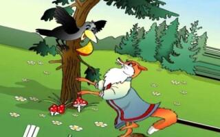 «Ворона і лисиця» – аналіз і мораль байки Крилова