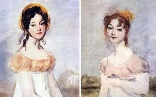 ✅Чим відрізняються Ольга і Тетяна в романі «Євгеній Онєгін»