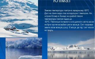 Клімат і води Північного Льодовитого океану