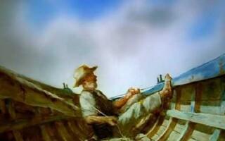 ✅Твір за повістю «Старий і море»