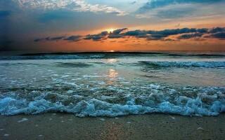 Які океани і моря омивають береги Африки?