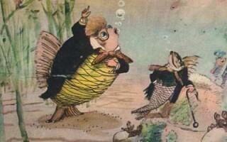«Карась-ідеаліст» – зміст казки Салтикова-Щедріна