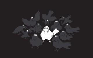 """✅Твір «Кого можна назвати """"білою вороною""""»?"""
