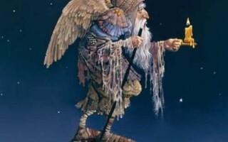 ✅Аналіз повісті Маркеса «Стариган із крилами»