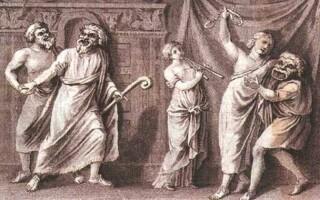 Структура давньогрецької комедії
