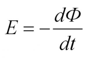 Закон електромагнітної індукції Фарадея