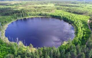 ✅Яке озеро наполовину солоне, а наполовину прісне?