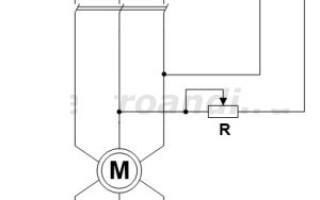 Гальмування асинхронного двигуна