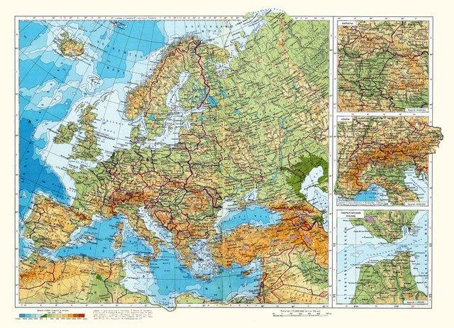 характеристика Зарубіжної Європи
