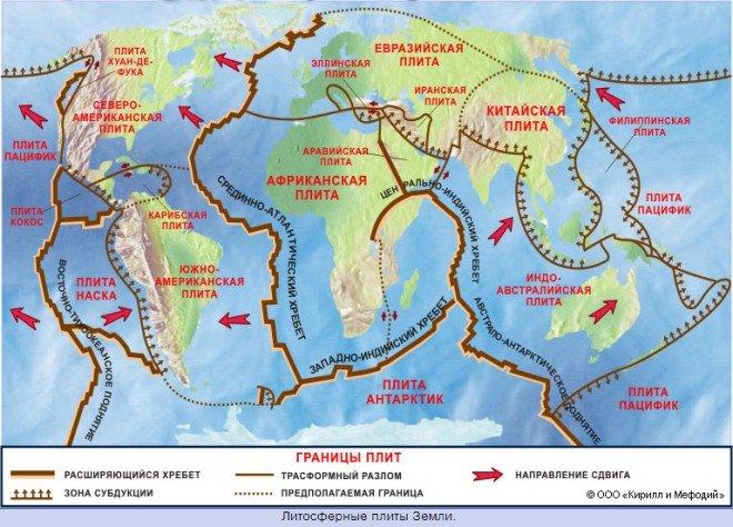 для аттестации карта мира с разломами земной коры владельцы пластиковых карточек