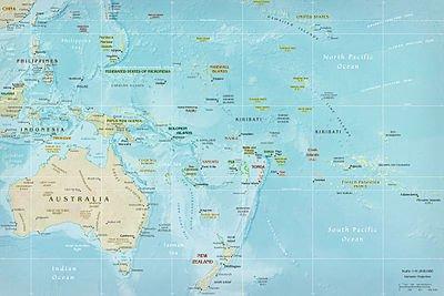 Географічне положення Океанії