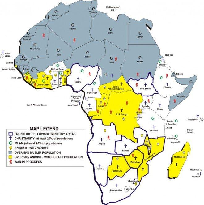 Релігії Африки