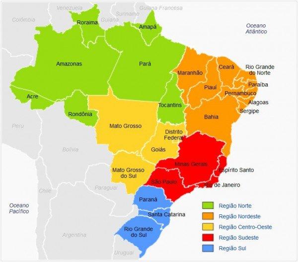 Географія Бразилії