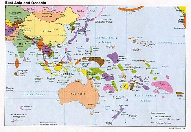 Народи і країни Океанії