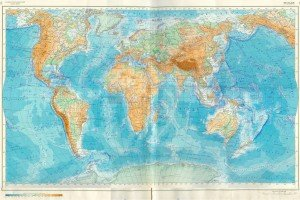 Карта рельєфа