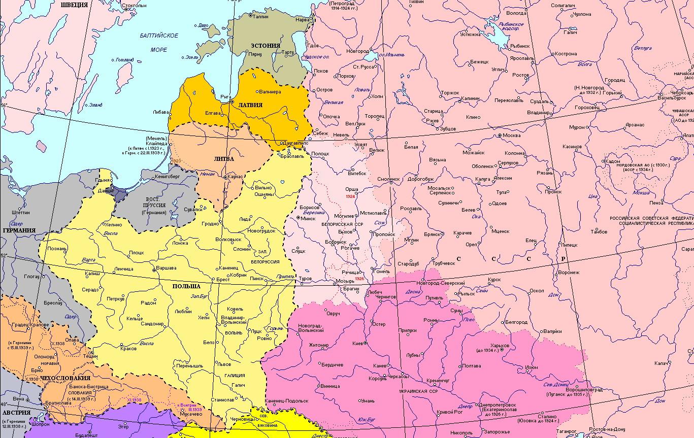 Країни східної європи