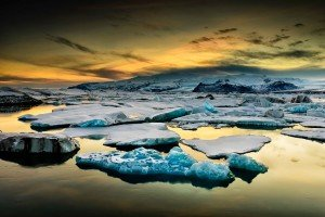 Лід в океані