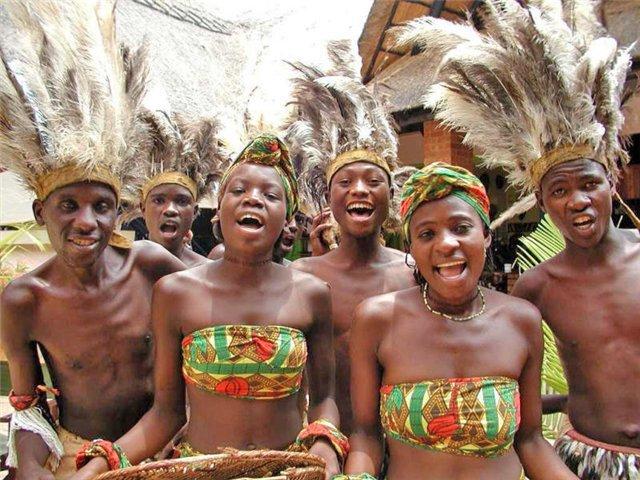 Населення Африки