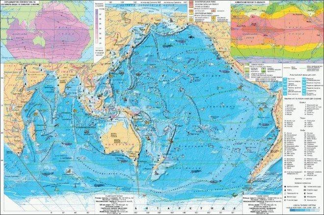 Тихий і Індійський океани