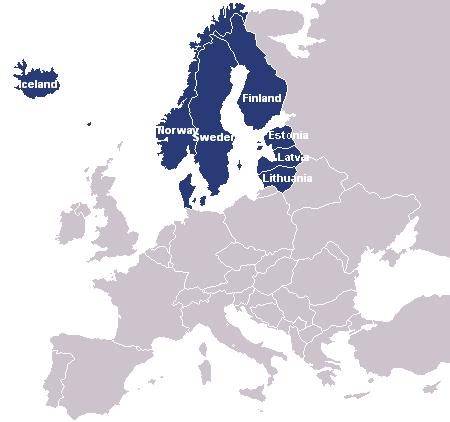 Райони Європи