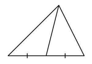медіана трикутника